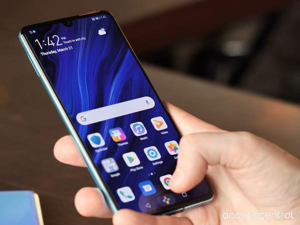Recensione Huawei P30: Software