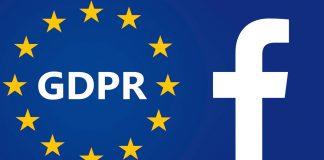 facebook non rispetterebbe appieno il gdpr