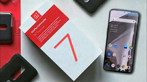Confezione OnePlus 7
