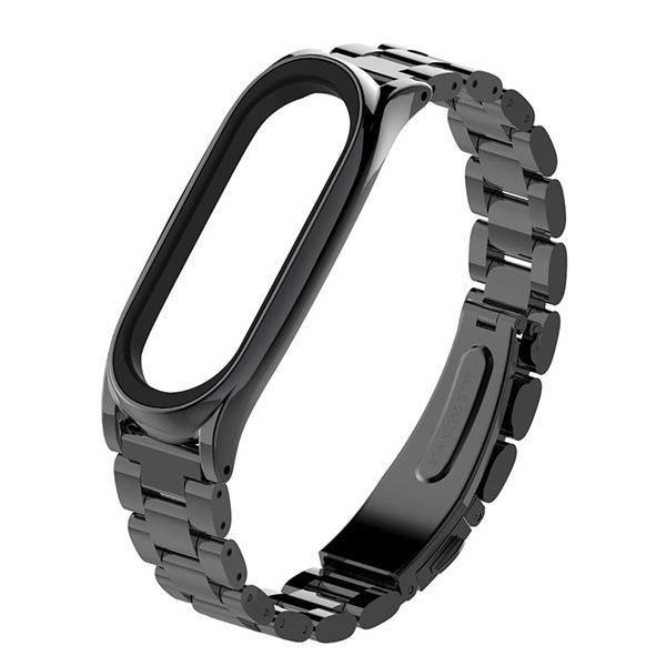 Cinturino B-DIG in metallo nero