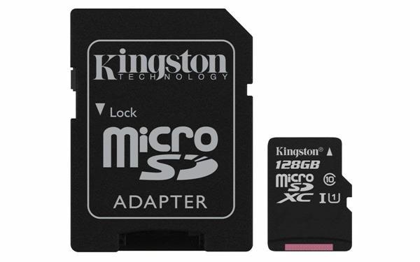 Scheda di memoria Kingston SDCS da 128GB