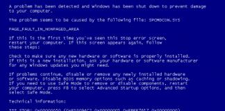 bluekeep e blue screen of death