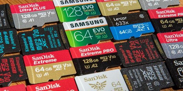 MicroSD smartphone Xiaomi