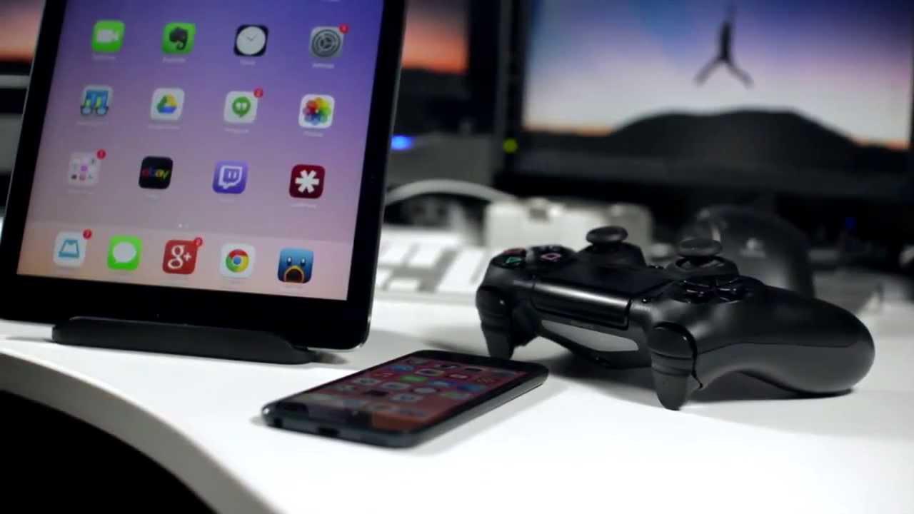 PS4 controller ipad