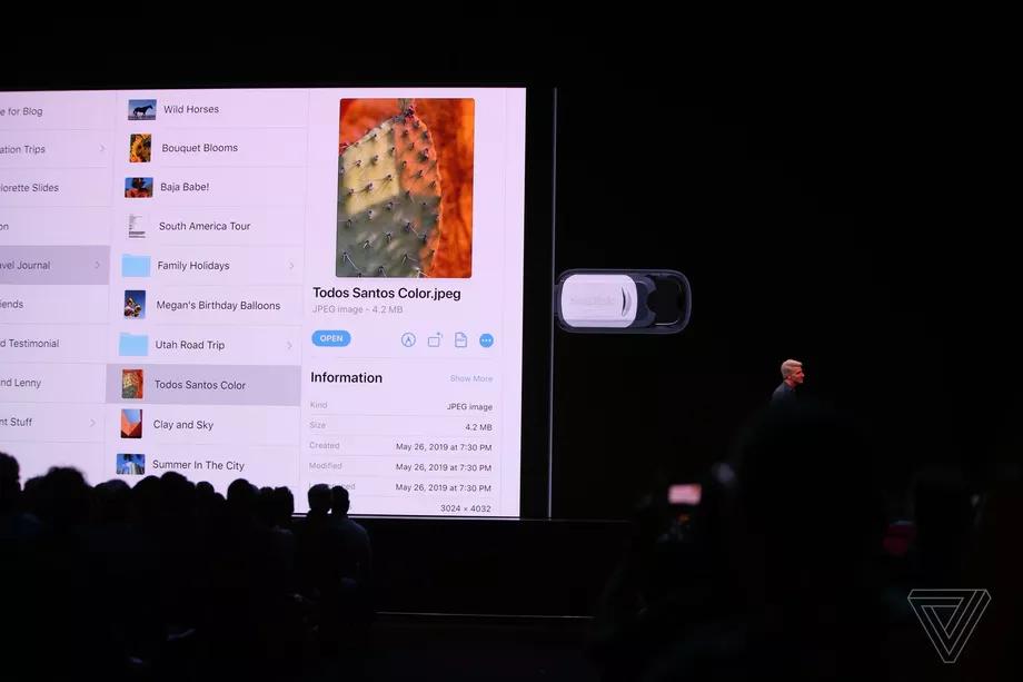 iPadOS chiavette usb
