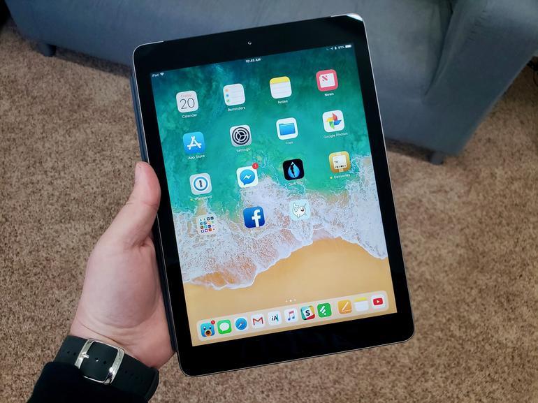 iPad con iOS 12