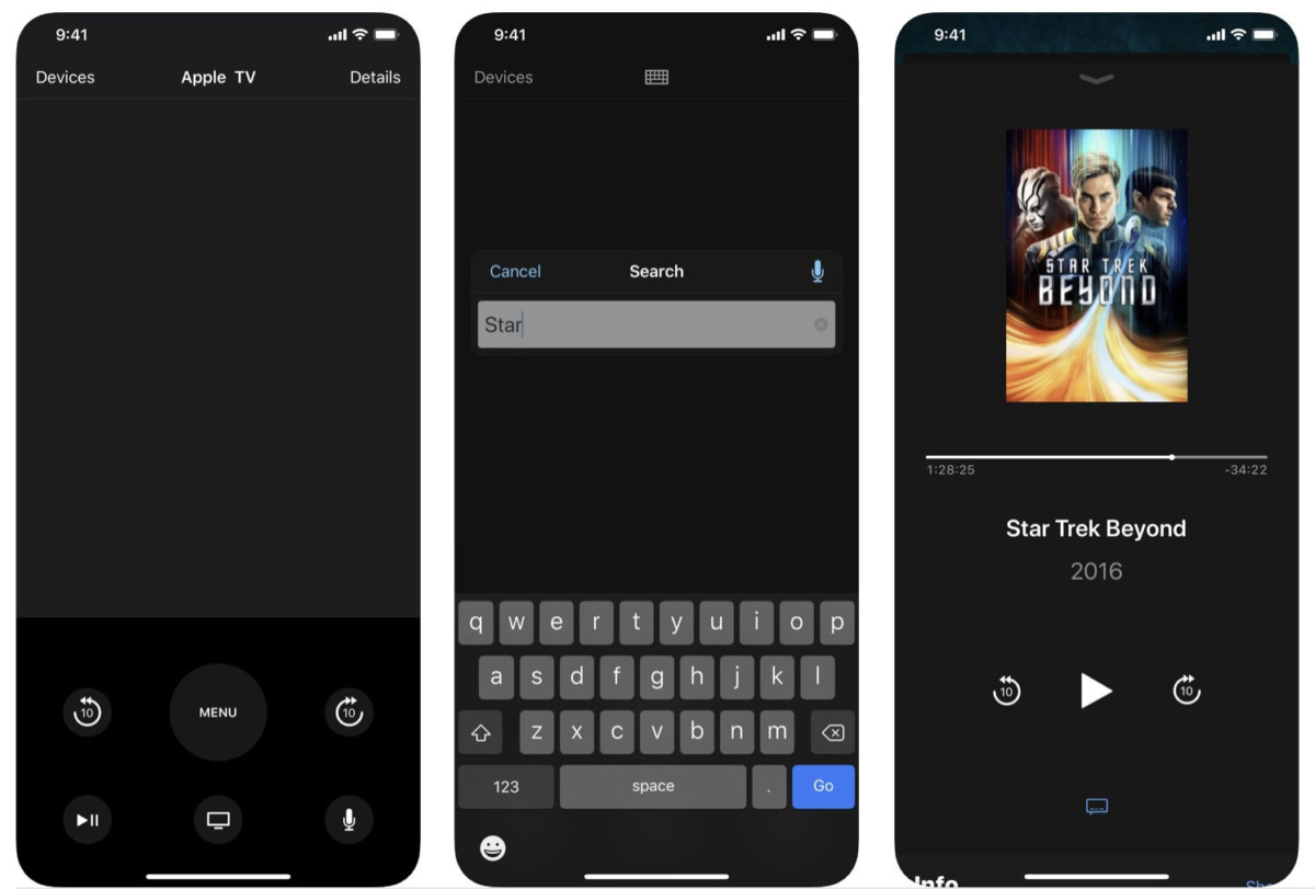 Un iPhone trasformato in un telecomando per Apple TV