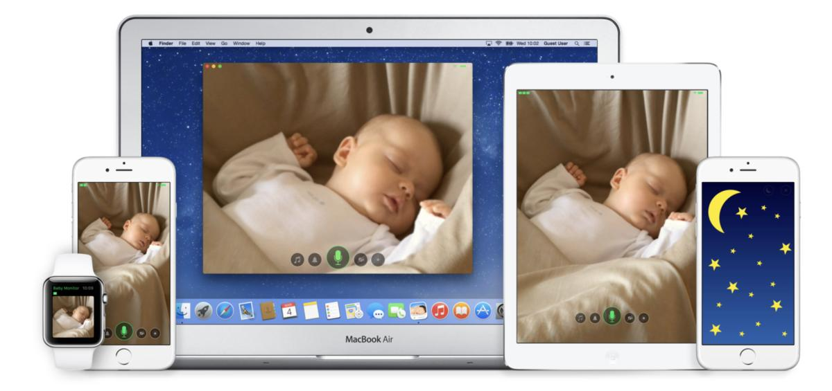 I dispositivi Apple trasformati in baby monitor