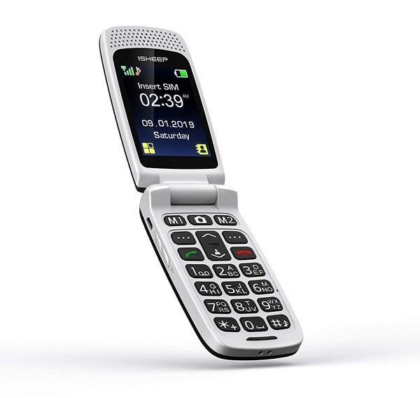 ISHEEP Telefono Cellulare per anziani