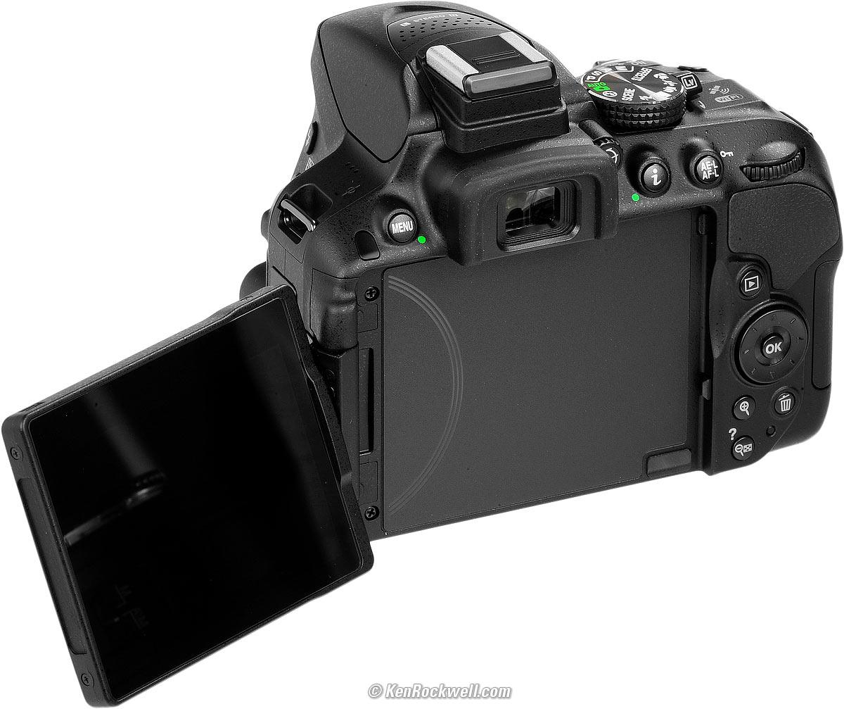 Una Nikon D5300, perfetta per le foto Raw