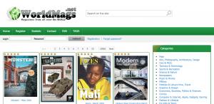 sito spartano ma con moltissime categorie di riviste