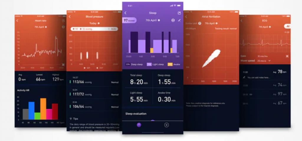 zeroner app Alfawise I7E