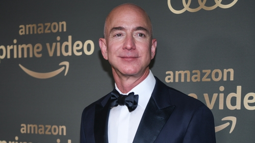 La foto di Jeff Bezos