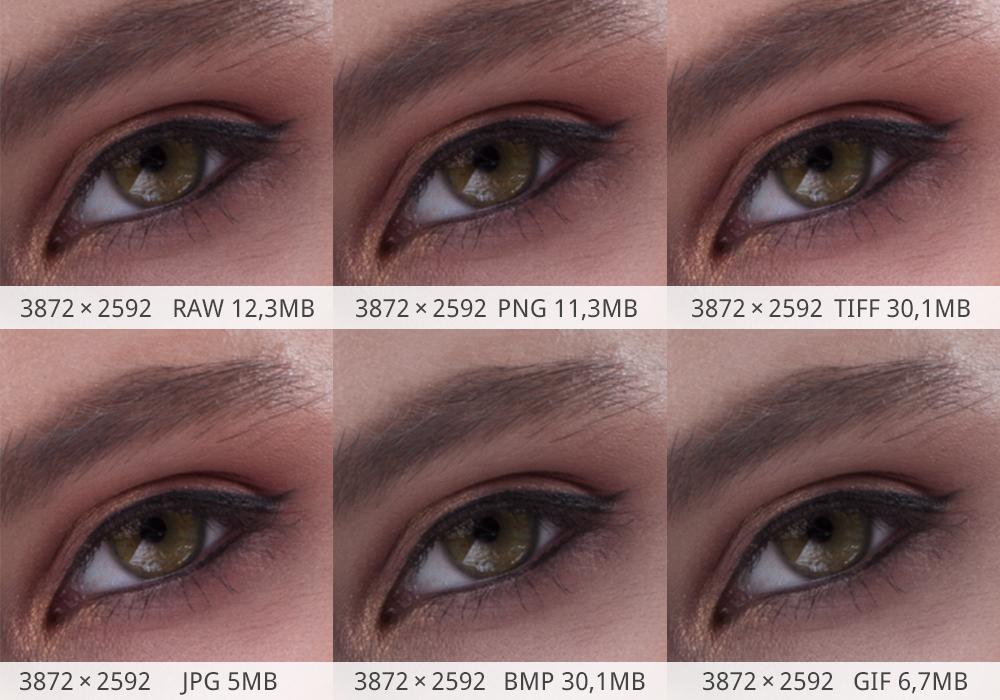 Da JPG a GIF: la differenza tra i formati