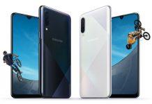 Samsung Galaxy A50s e A30s