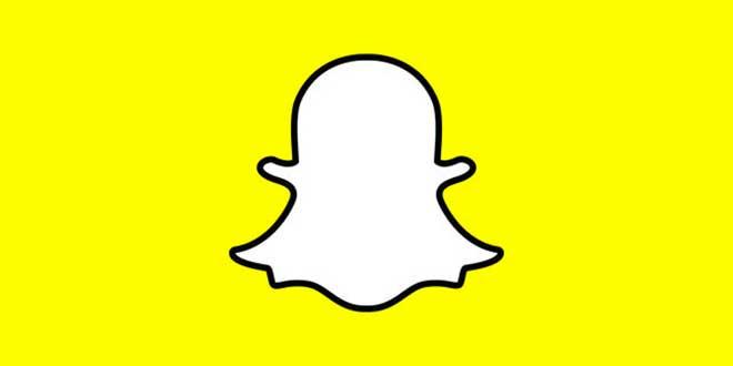 Il logo di Snapchat
