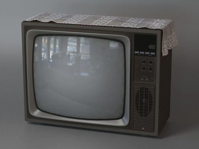 Un vecchio televisore