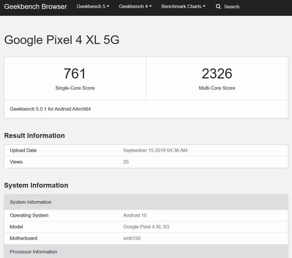 Google Pixel 4 XL 5G