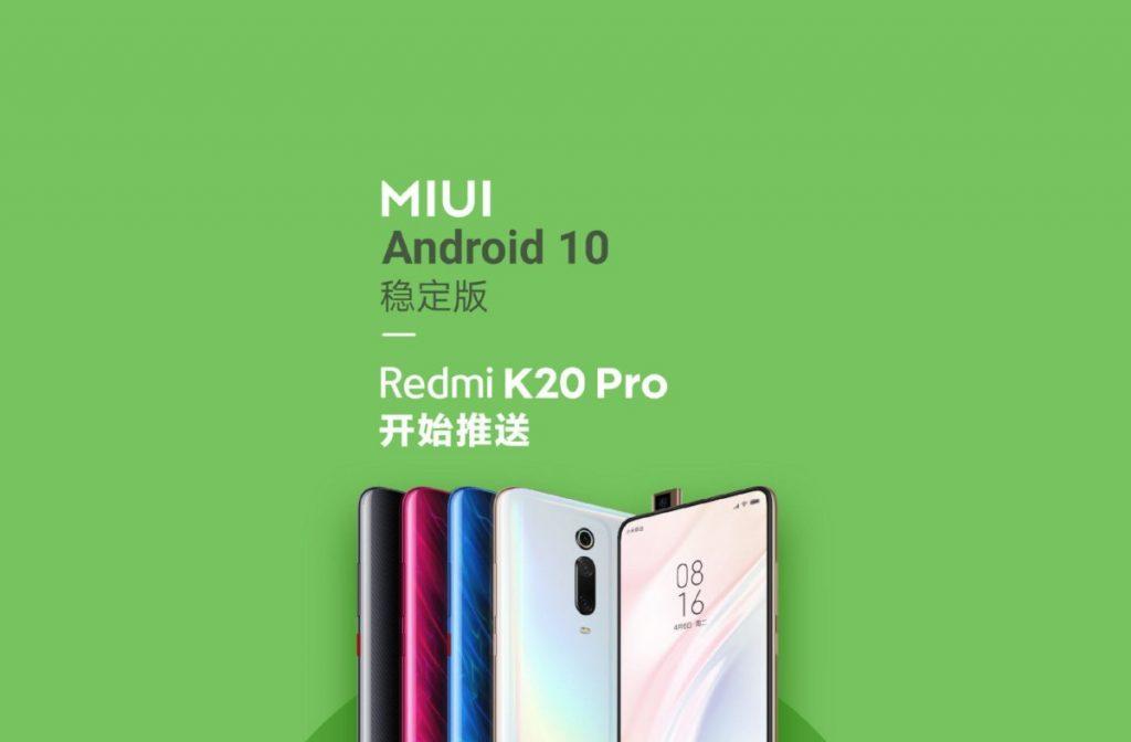 android 10 redmi K20 pro