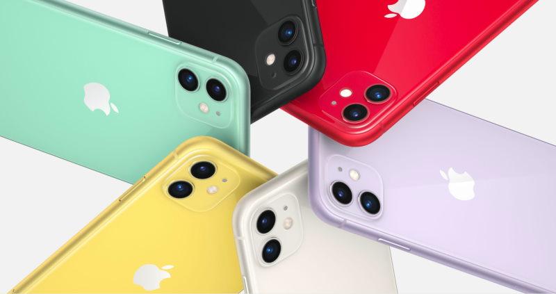 iPhone 11 e le varietà di colori