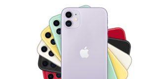 iPhone 11, i colori