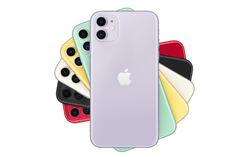 iPhone 11, i colori