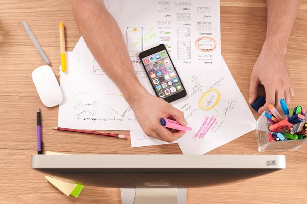 Lavorare con lo smartphone