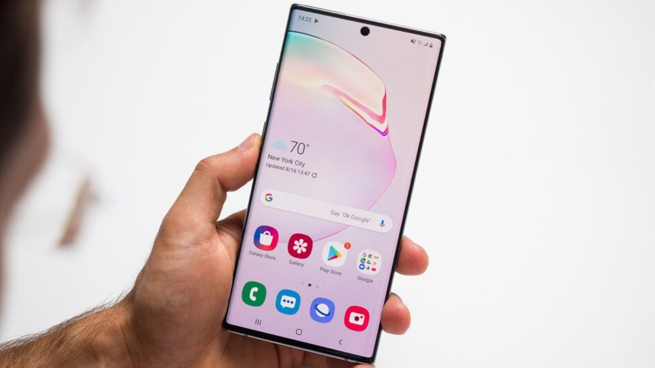 Galaxy Note 10 Android 10 beta