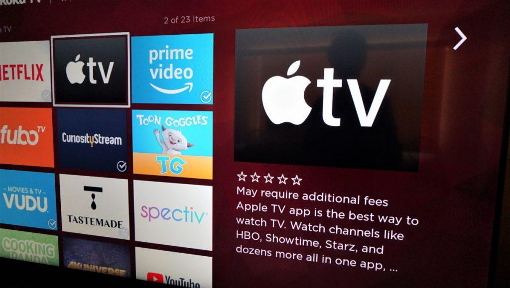 L'app di Apple TV arriva sui dispositivi Amazon Fire TV
