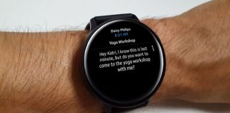 Microsoft Outlook Galaxy Watch