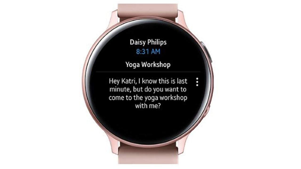 Microsoft Outlook Galaxy Watch