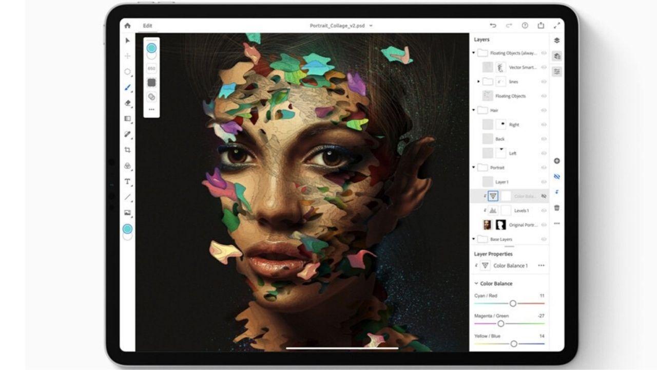 Adobe Photoshop per iPad pronto per il lancio