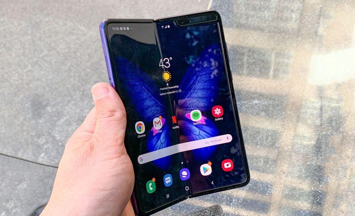 Samsung Galaxy Fold 2 fotocamera sotto display