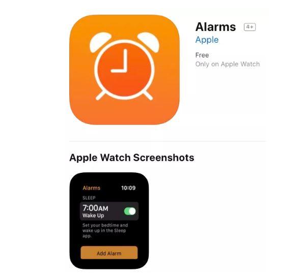 apple watch app sonno