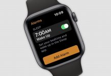 apple watch app sonno