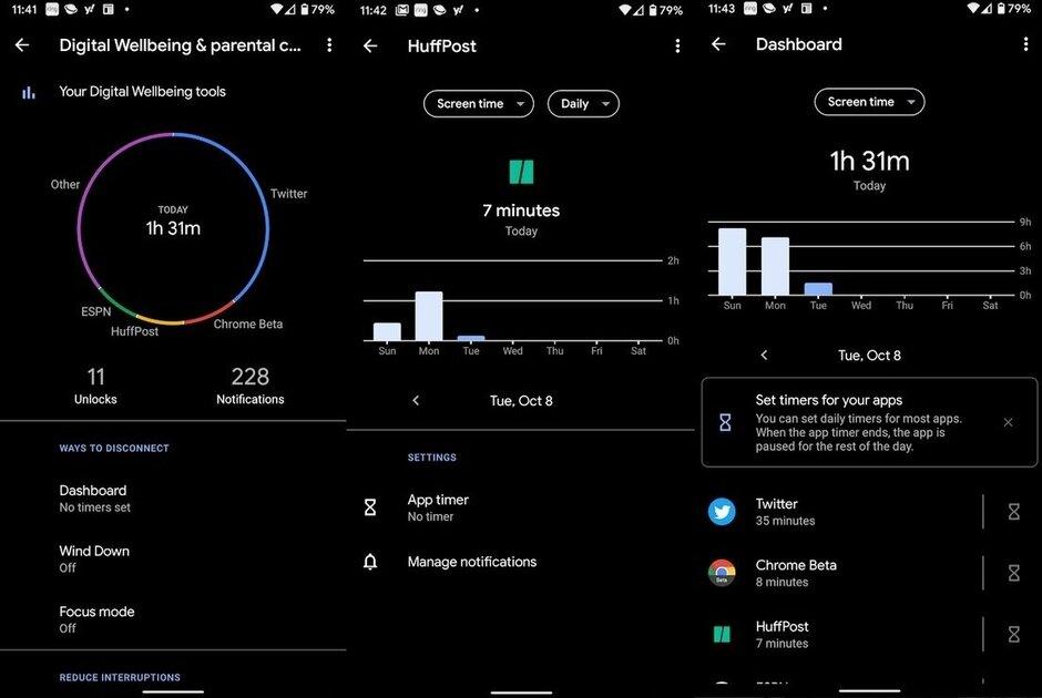 Google: app per il benessere digitale