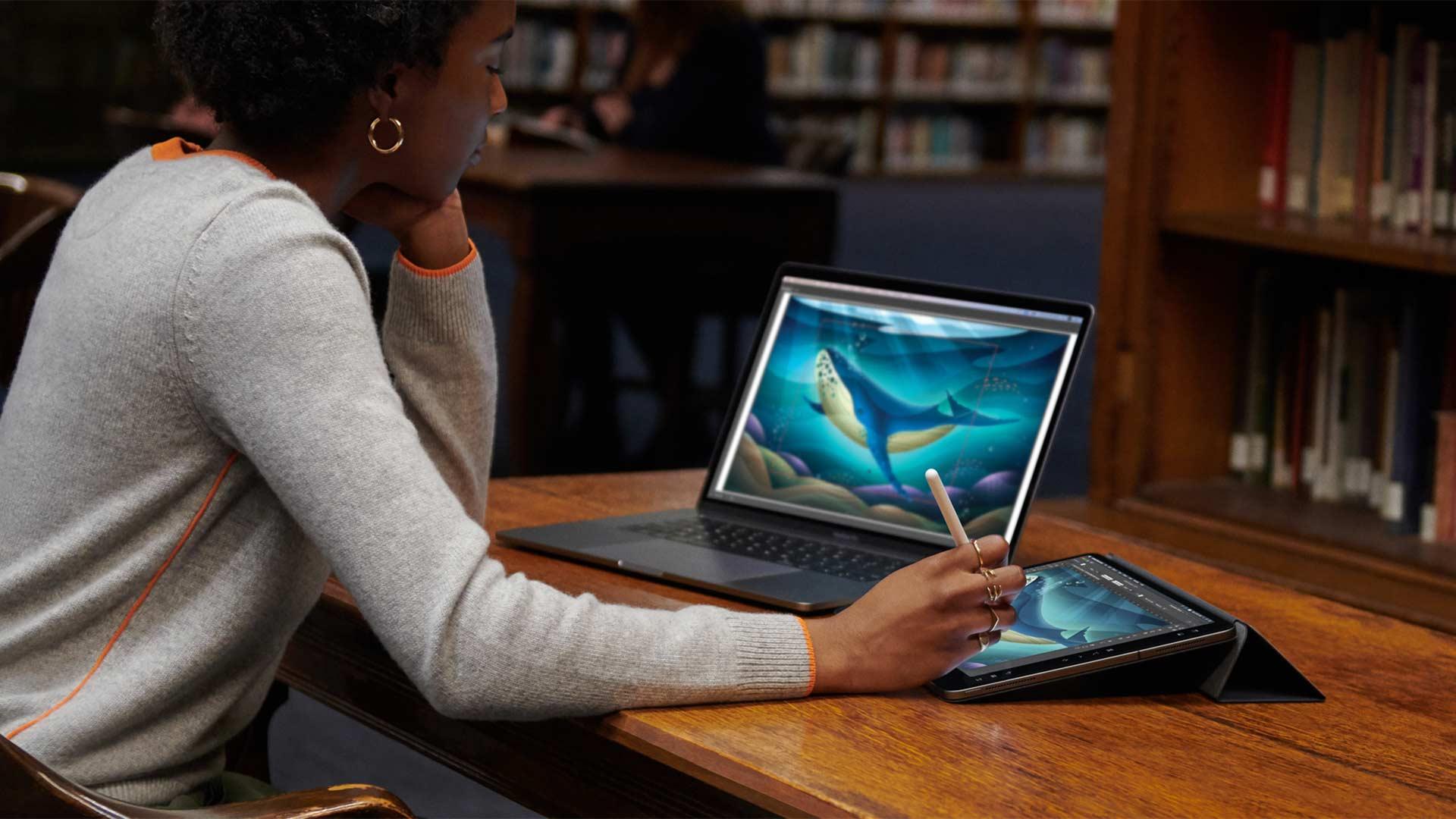 iPad viene trasformato in una tavoletta grafica, grazie a macOS Catalina