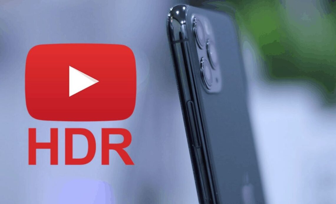 hdr app youtube per iphone 11 pro