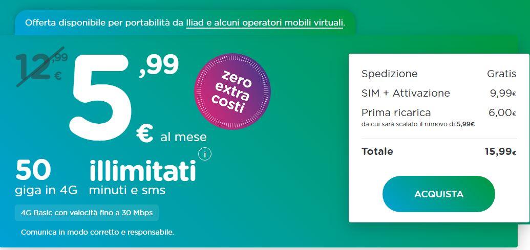 ho.mobile offerta