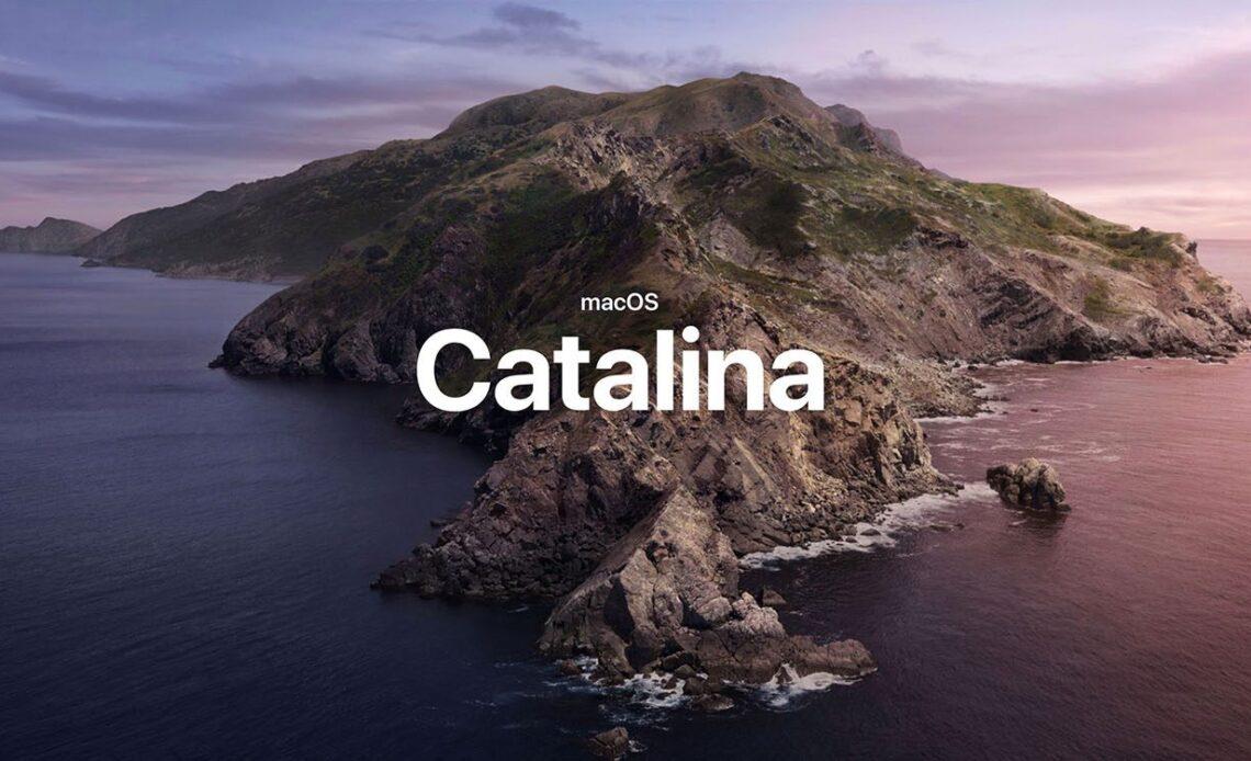 L'immagine principale di macOS Catalina