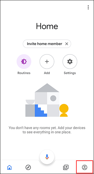 Google Home per Android: un'icona