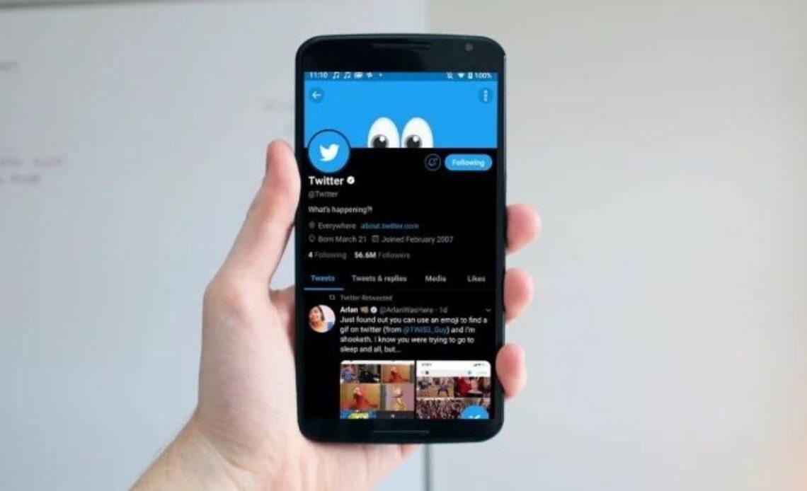 twitter modalità scura per Android