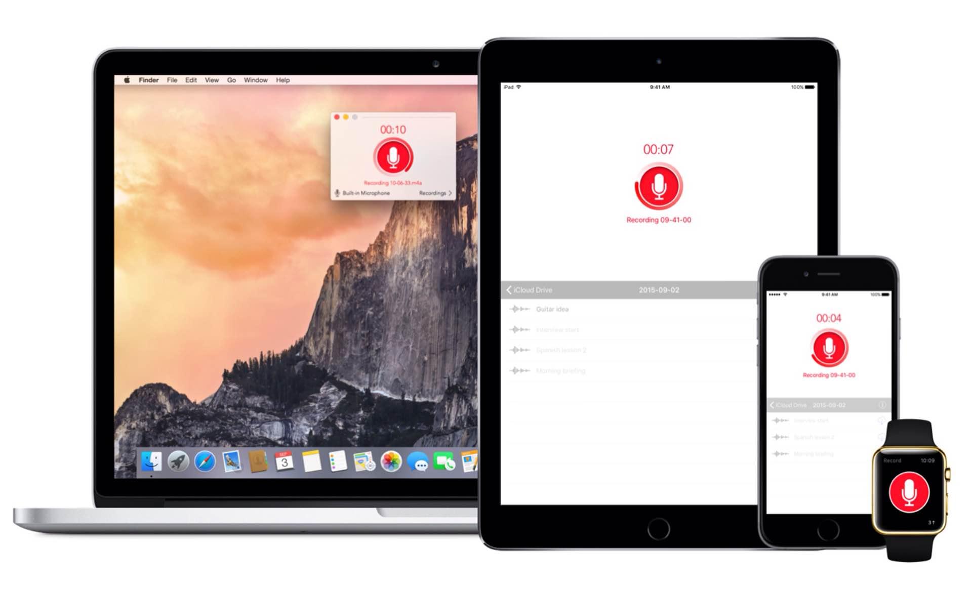 Just Press Record per iPadOS