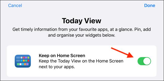 """Mantieni """"Visualizza Oggi"""" nella schermata principale di iPadOS"""