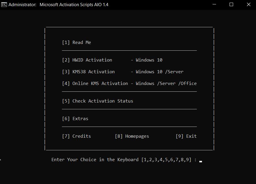 schermata mas attivazione windows 10 office