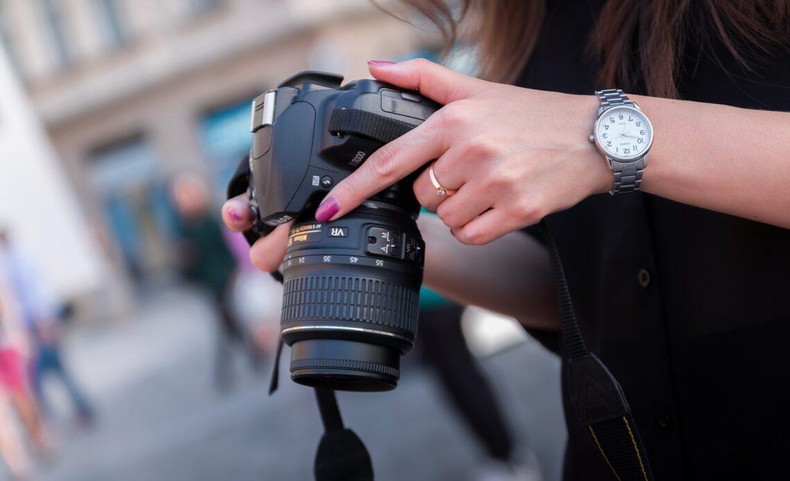 obettivo macchina fotografica