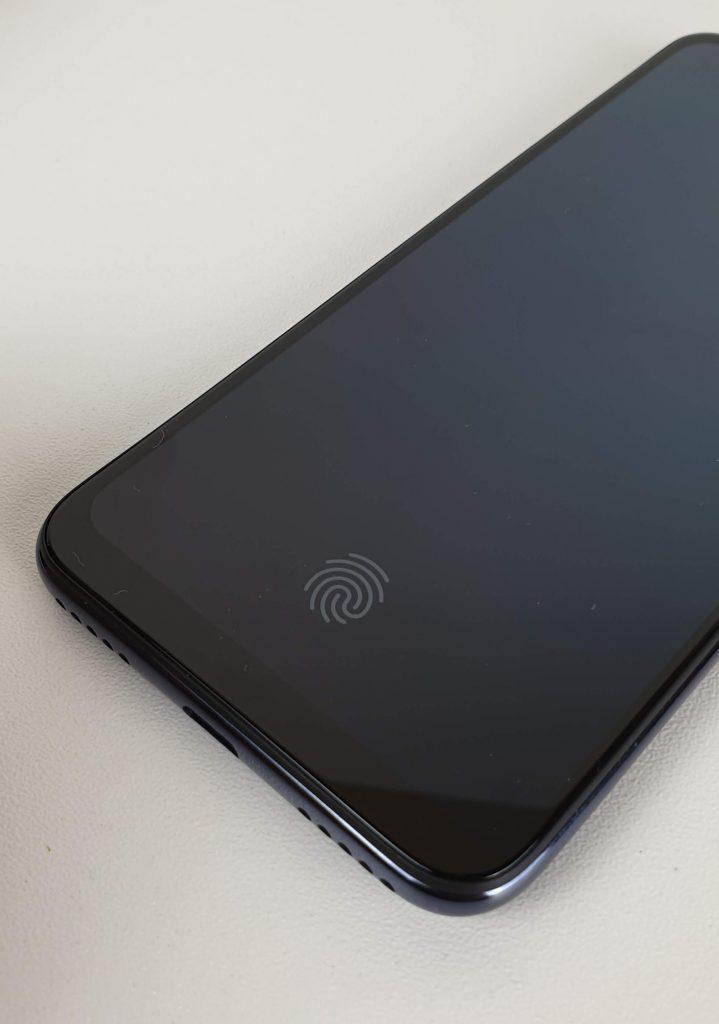 recensione xiaomi mi a3 - sensore impronte sotto schermo
