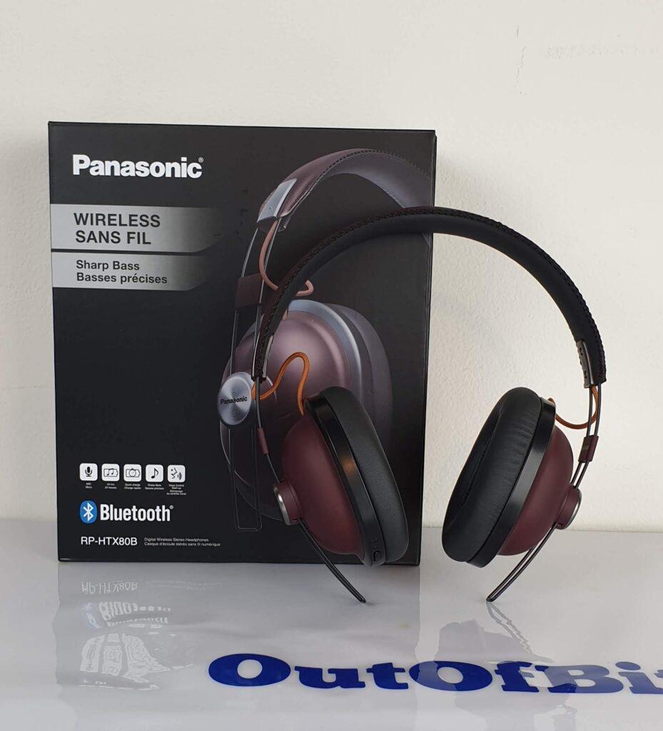 Panasonic RP-HTX80B confezione