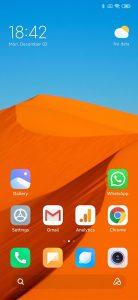 Screenshot miui 11 redmi note 8 pro - home