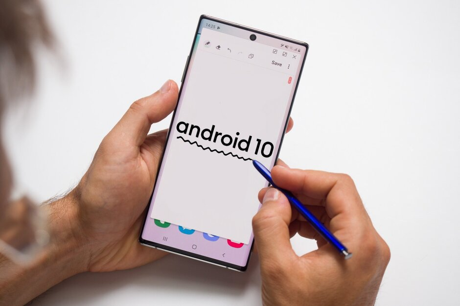 android 10 galaxy S10